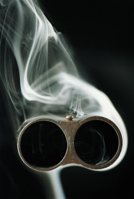 gunsmokingshotgunbarrel9kr