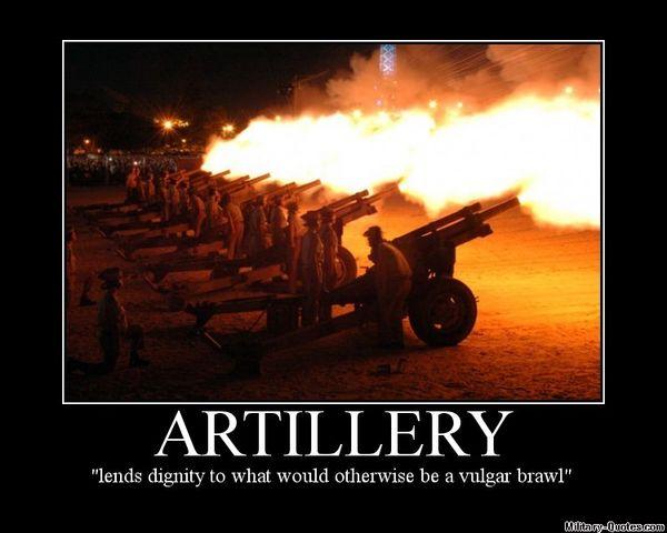 artillary